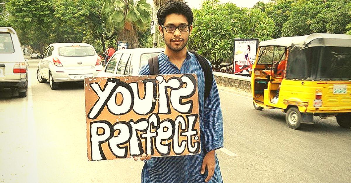 He Held One Placard from Pune to Estonia. Here's What Happened.