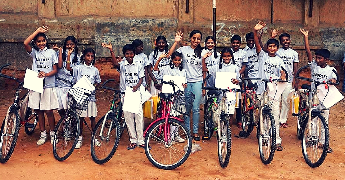 How a 17-Year-Old Made Lesser Privileged Kids Experience the Thrill of Cycling