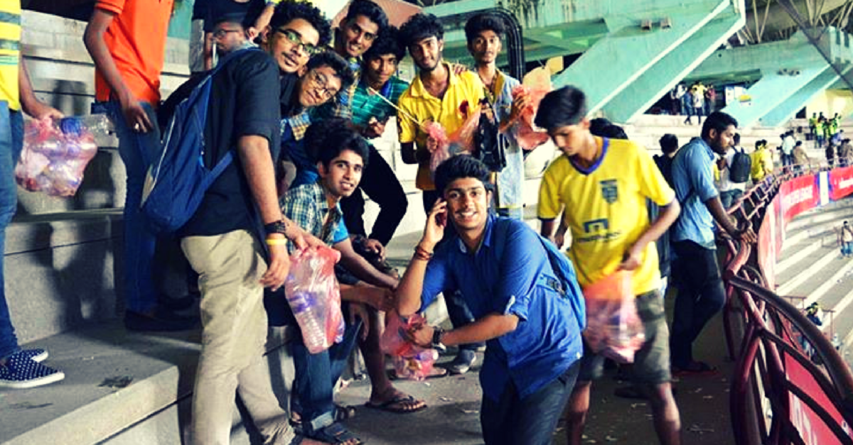 MY STORY: How Two Football Loving School Boys Brought ISL & Clean India Campaign Together in Kochi