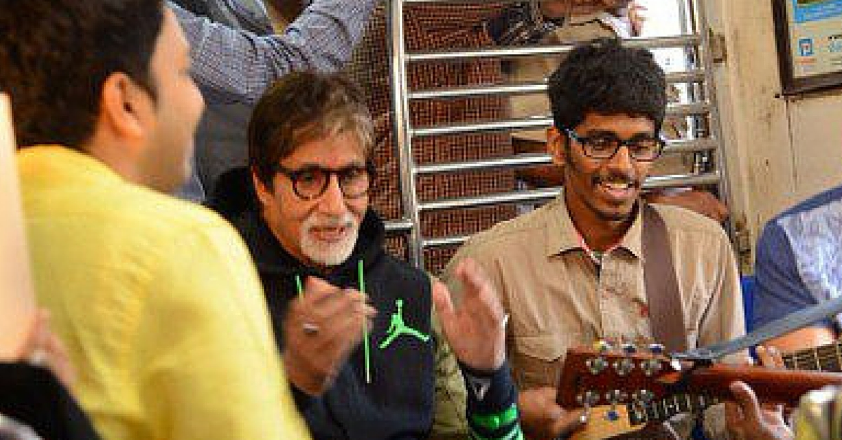 A 23-Year-Old Plays the Guitar on Mumbai Locals. For a Beautiful Reason.