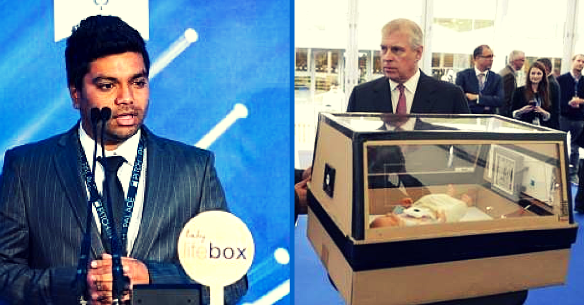 Indian Student in London Designs Low Cost Baby Incubator with Cardboard