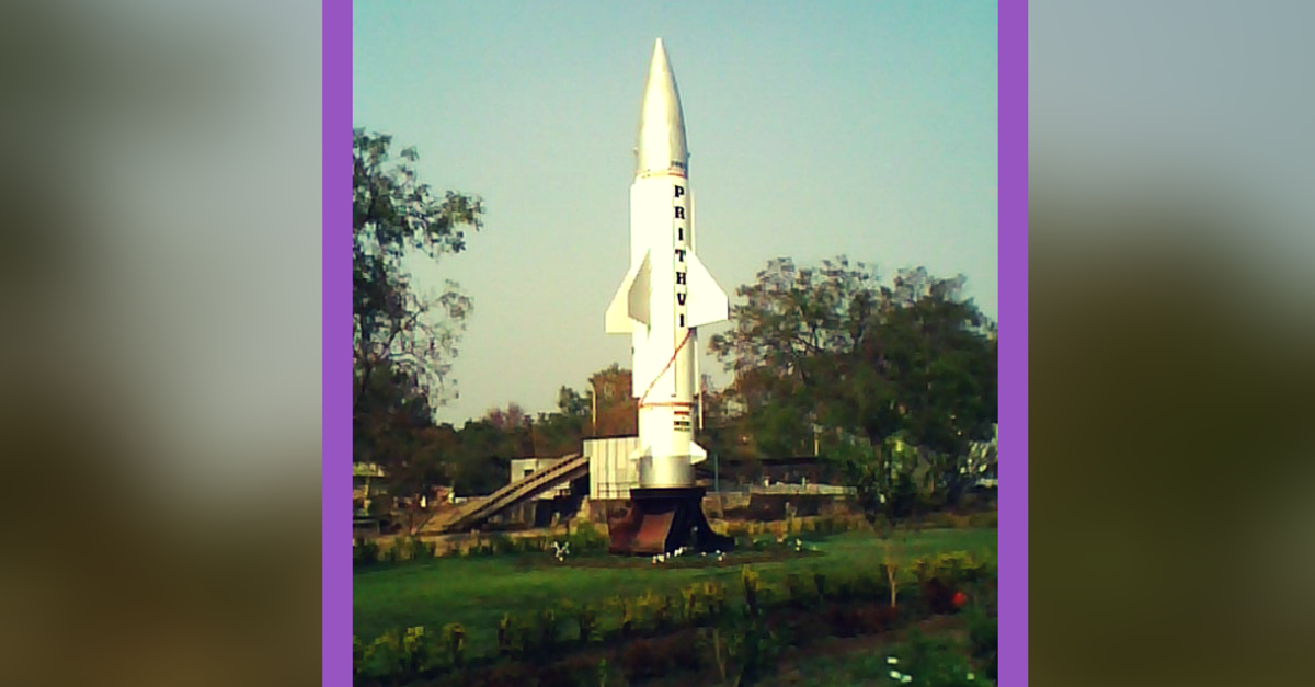 Prithvi-II, India's Indigenously Developed Missile, Successfully Test Fired in Odisha