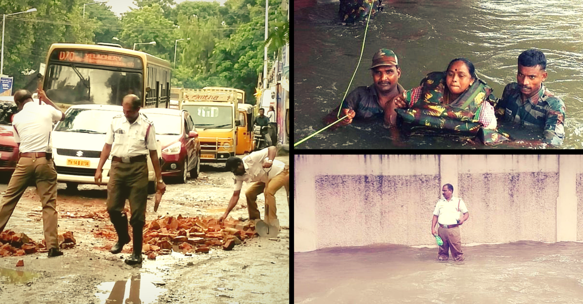 14 Moments When #ChennaiRains Brought out the Best in Humanity