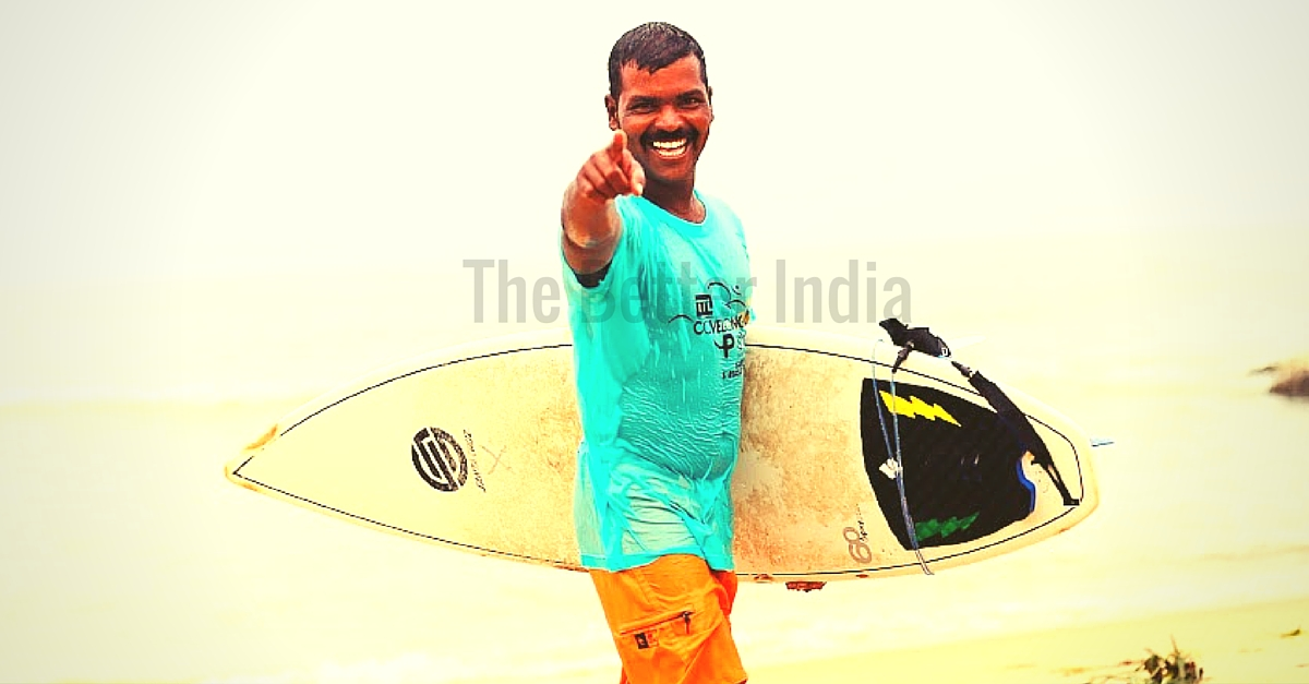 How a Fisherman's Son in a Coastal TN Village Became a Surfing Champion & Started a Surf School