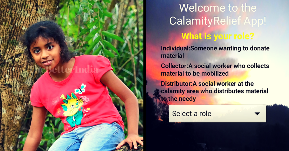 This App Developed by a 10-year-old Might Be Just What You're Looking for Chennai Flood Relief