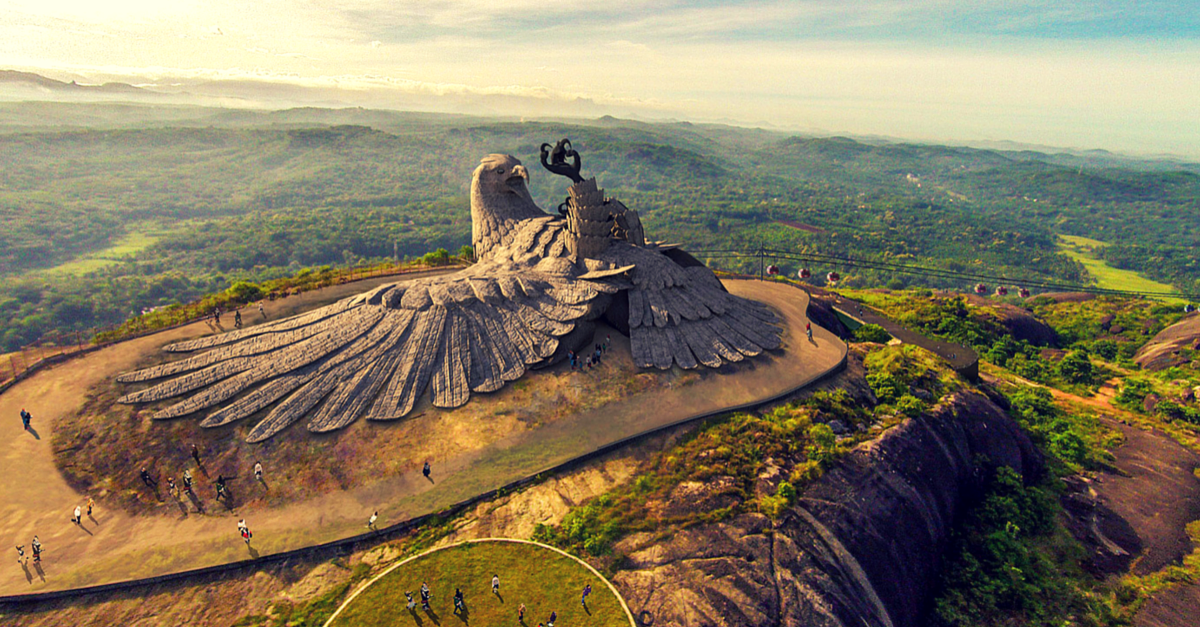 6 Things You Should Know About Kerala's Latest Tourist Attraction – Jatayu Nature Park