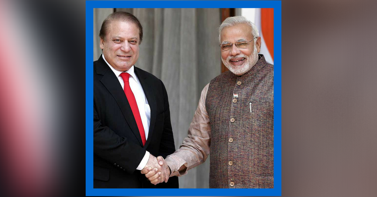 The Perfect Way to End 2015 — Lessons from the Modi-Sharif Visit