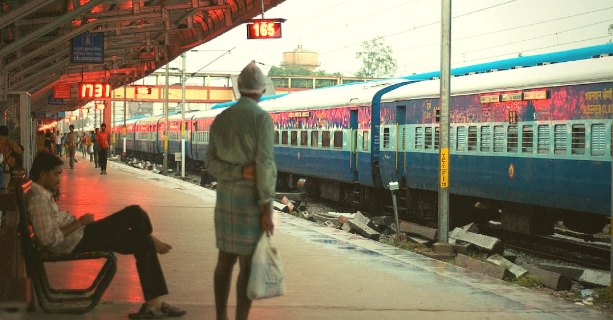 A Lady Receives Bed Roll, While Another Gets Medical Assistance – on Indian Rails, via Twitter