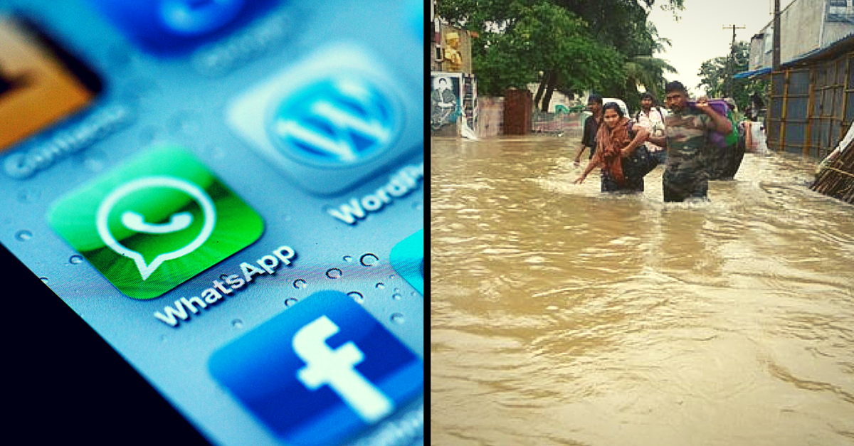 Lost Your Textbooks in the Chennai Floods? Send a WhatsApp Message to These Numbers