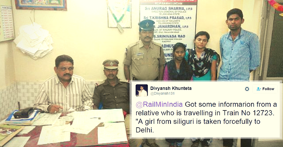 When a Tweet to the Railways Saved an Orphan Girl from Traffickers