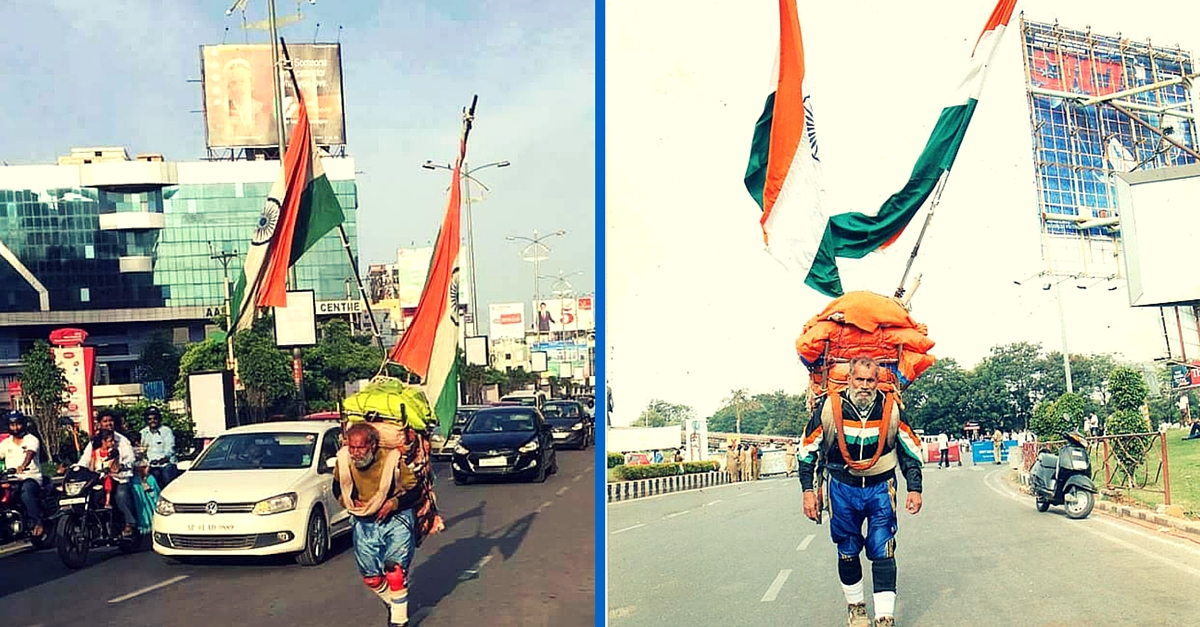This 81-Year-Old Has Walked over 5,70,000 Km to Spread Awareness Against Tobacco & Alcohol