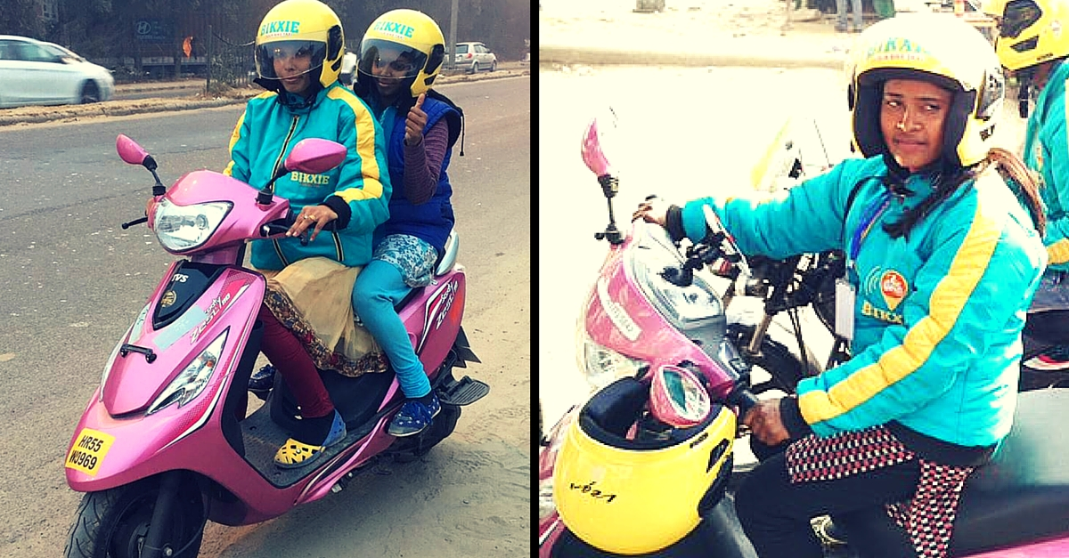 Gurgaon Now Has a New Bike Taxi Service for Women, by Women