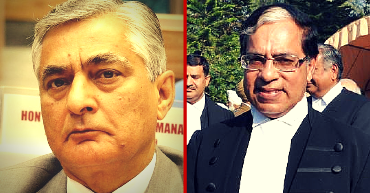 The Chief Justice of India Is Carpooling to Work with a Supreme Court Judge