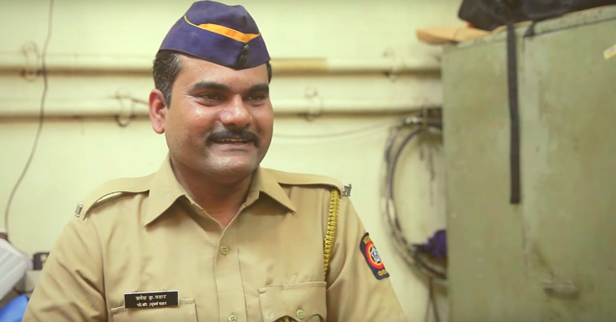 VIDEO: The Man Who Quit His Job in a Multinational Firm to Become a Police Constable