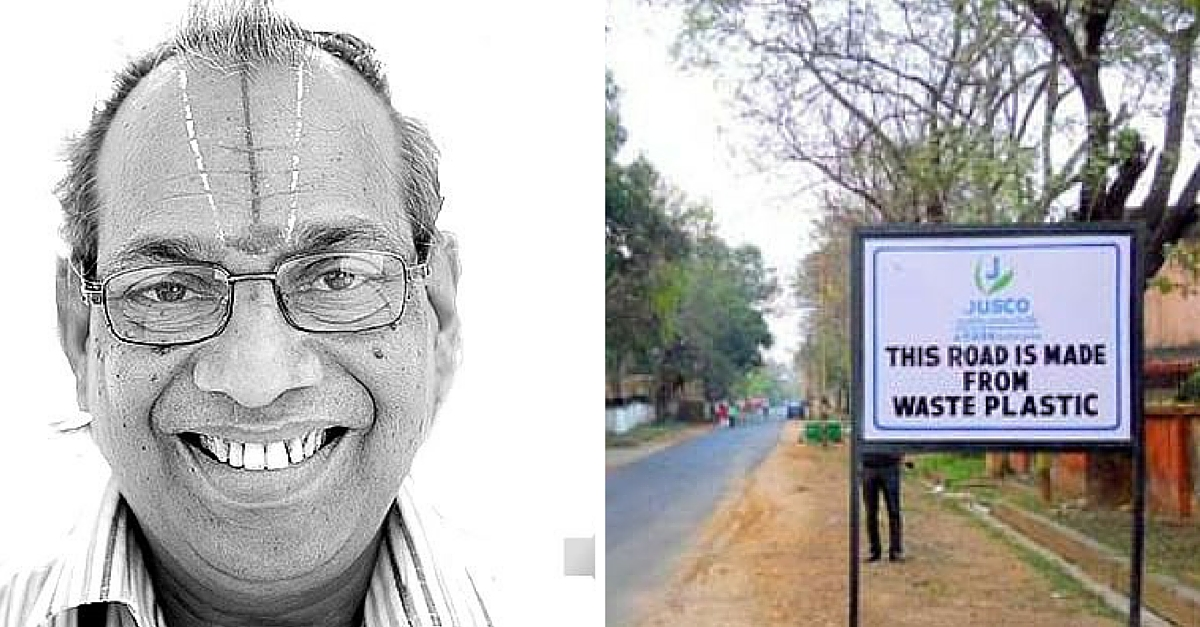 Roads Made of Plastic Waste in India? Yes! Meet the Professor Who Pioneered the Technique.
