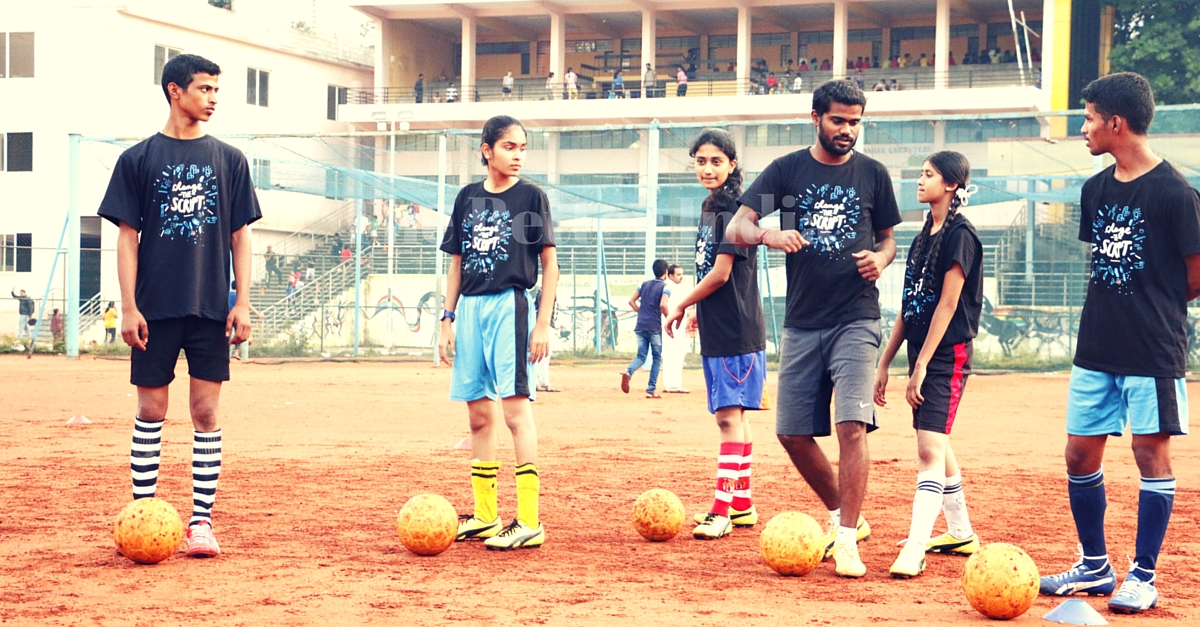 These 4 Underprivileged Kids from Bengaluru Are Heading to France. All for the Love of Football.