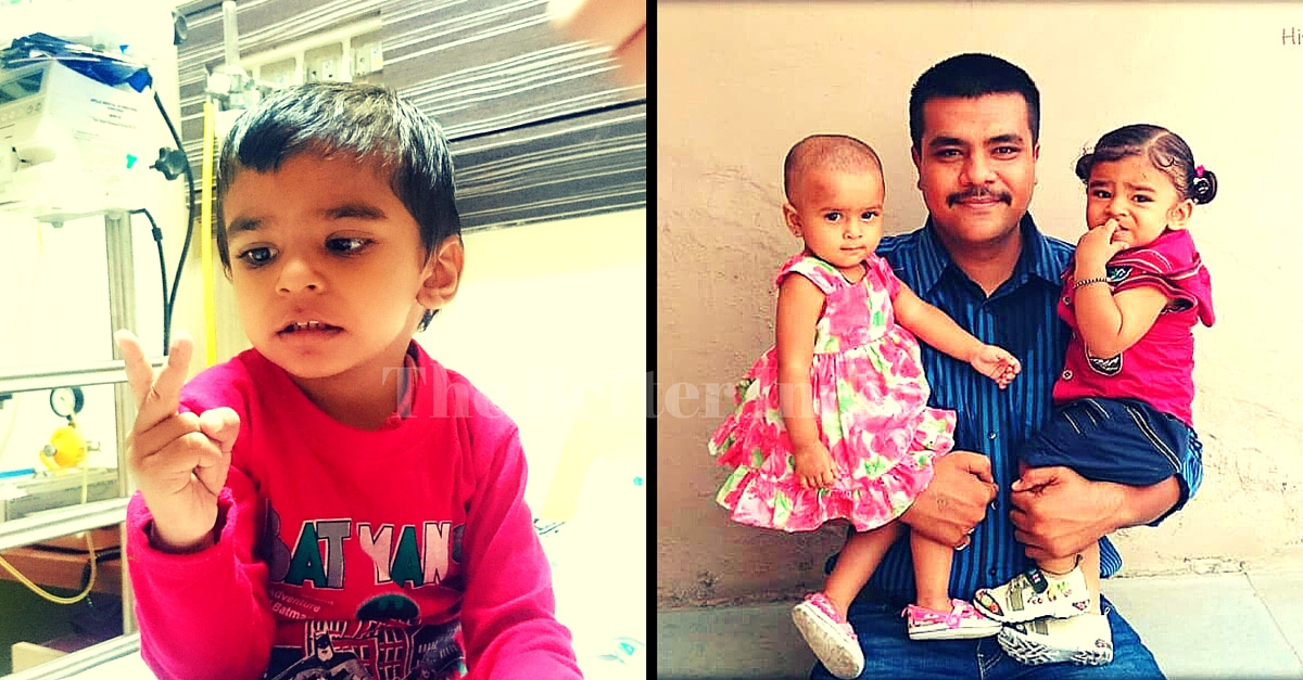 Hitarth Was a Bubbly Two-Year-Old till a Year Ago. Now He's Battling Cancer and Needs Your Help.