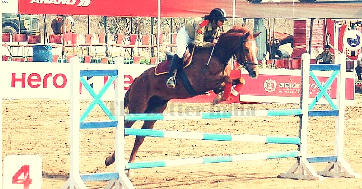 Show Your Support for Sthavi Asthana, India's Grand Hope for an Asian Games Gold in Horse Riding