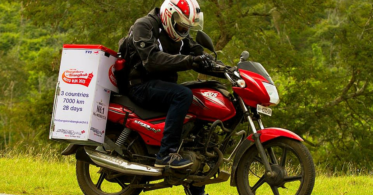 Bengaluru to Bangkok: How This Guy Travelled 6,000 plus Km on 110 cc Bike