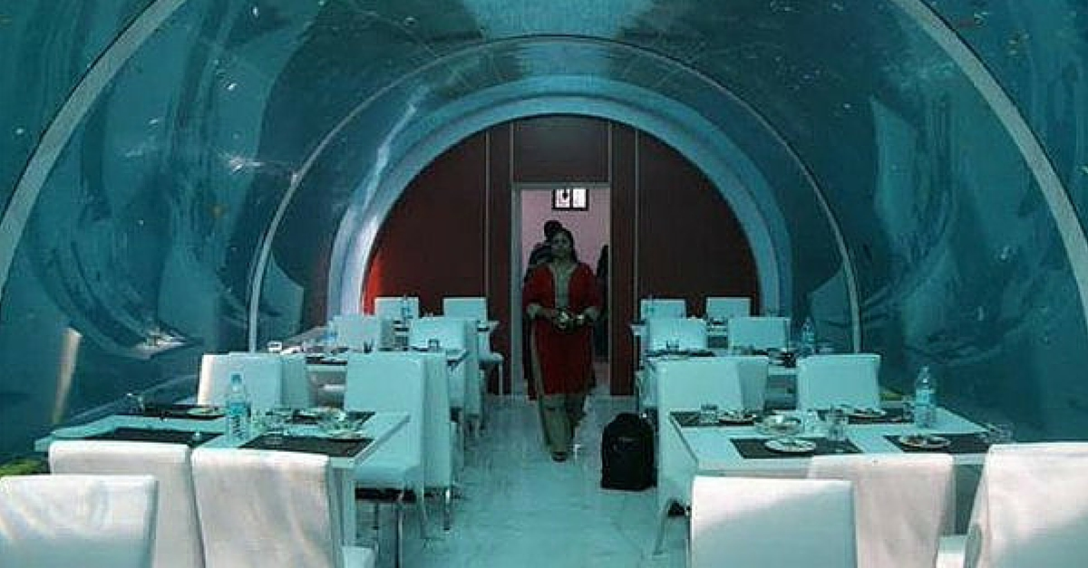 Now Dine with the Fish at India's First Underwater Restaurant