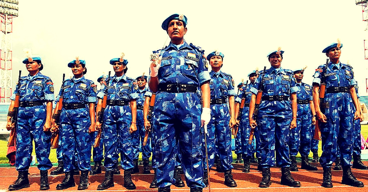 A Huge Welcome Back to the World's First All-Woman Police Unit with the UN. It Left India in 2007.