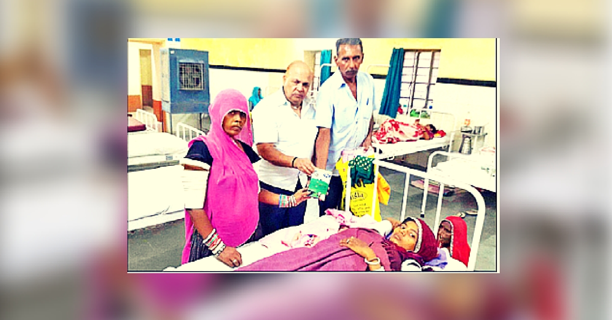 This Man Offers an Unusual Gift to Women Who Have Just Given Birth to Girls in Rajasthan – Ghee!