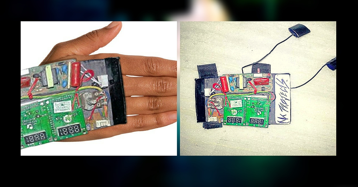 Rajasthan Teen Designs Award Winning Glove to Give Molesters a 220V Shock. For Just Rs. 500!