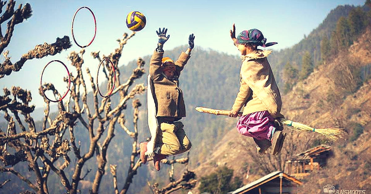 These Kids Playing Quidditch in a Remote Himalayan Village Will Make Any Harry Potter Fan Smile!