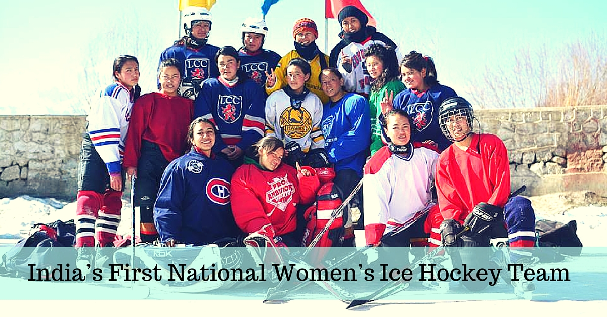 You Can Help India's First Women's Ice Hockey Team Play Its First International Tournament