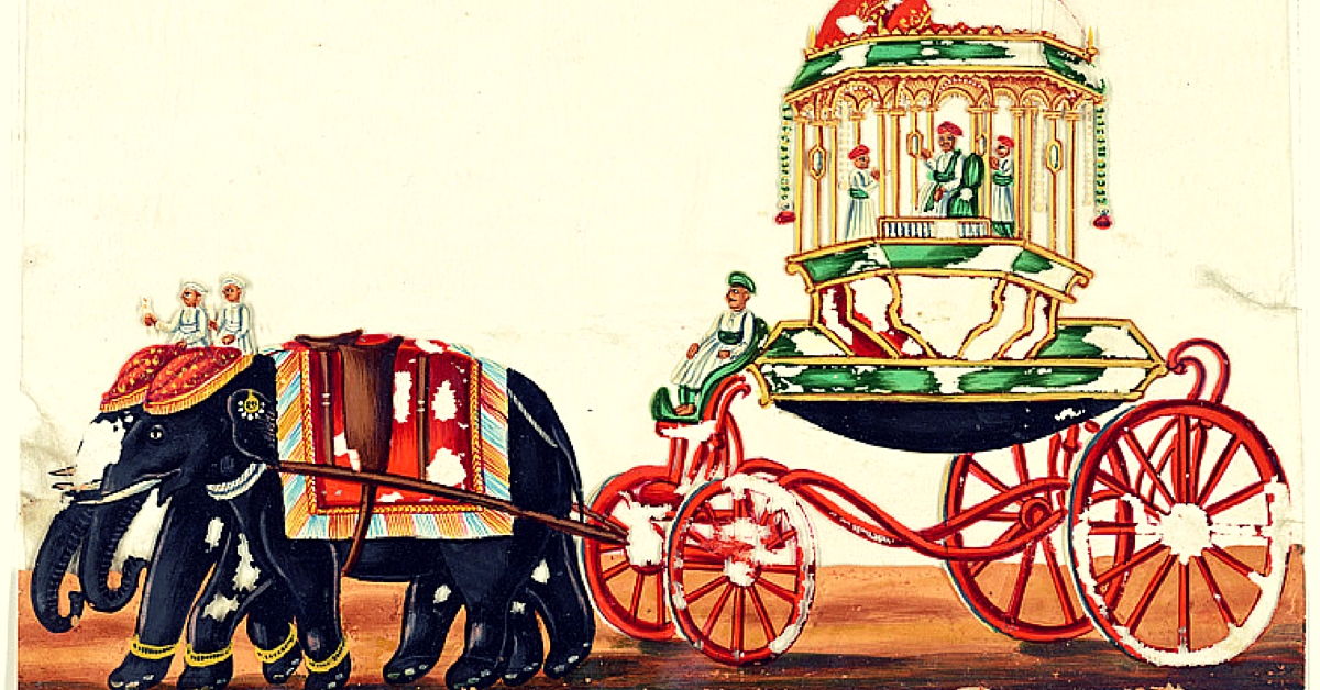 These 11 Rare Paintings of India Were Recently Released by the New York Public Library