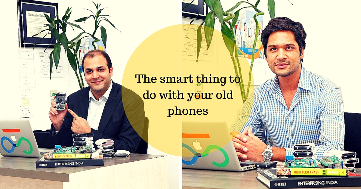 Waste to Valuable: Discarded Mobile Phones Are Getting Recycled & Making Money for These 2 Friends