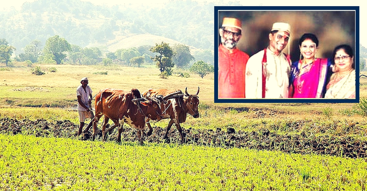 A Man in Maharashtra Downsized His Daughter's Wedding, Saving Rs. 6 Lakh to Donate to Farmers