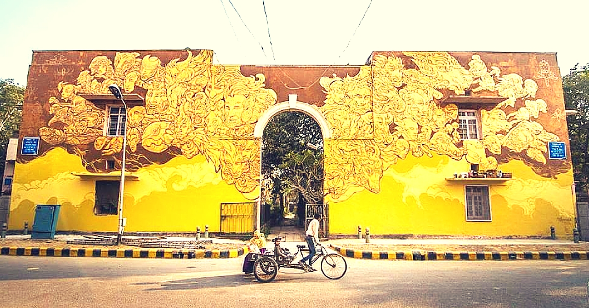 Say Hello to India's First Open Air Public Art District.  With 12 Stunning Pictures.