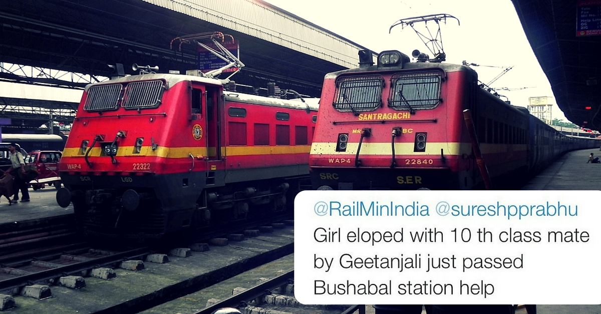 How a Tweet to the Railway Ministry Helped Parents Find Their 15-Year-Old Daughter