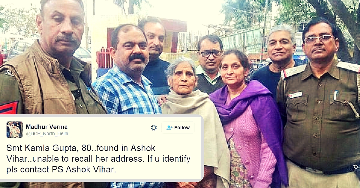 How Twitter and Police Came Together to Reunite an 80-Year-Old Woman with Her Family