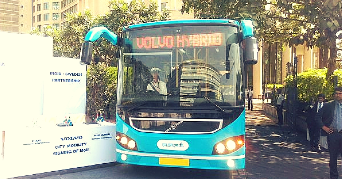 India Gets Its First Hybrid Bus