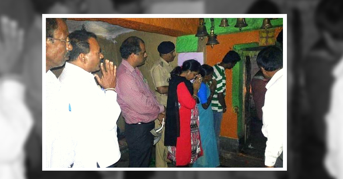 District Officers from Karnataka Town Take Dalits to Temple, Despite Opposition from Upper Castes