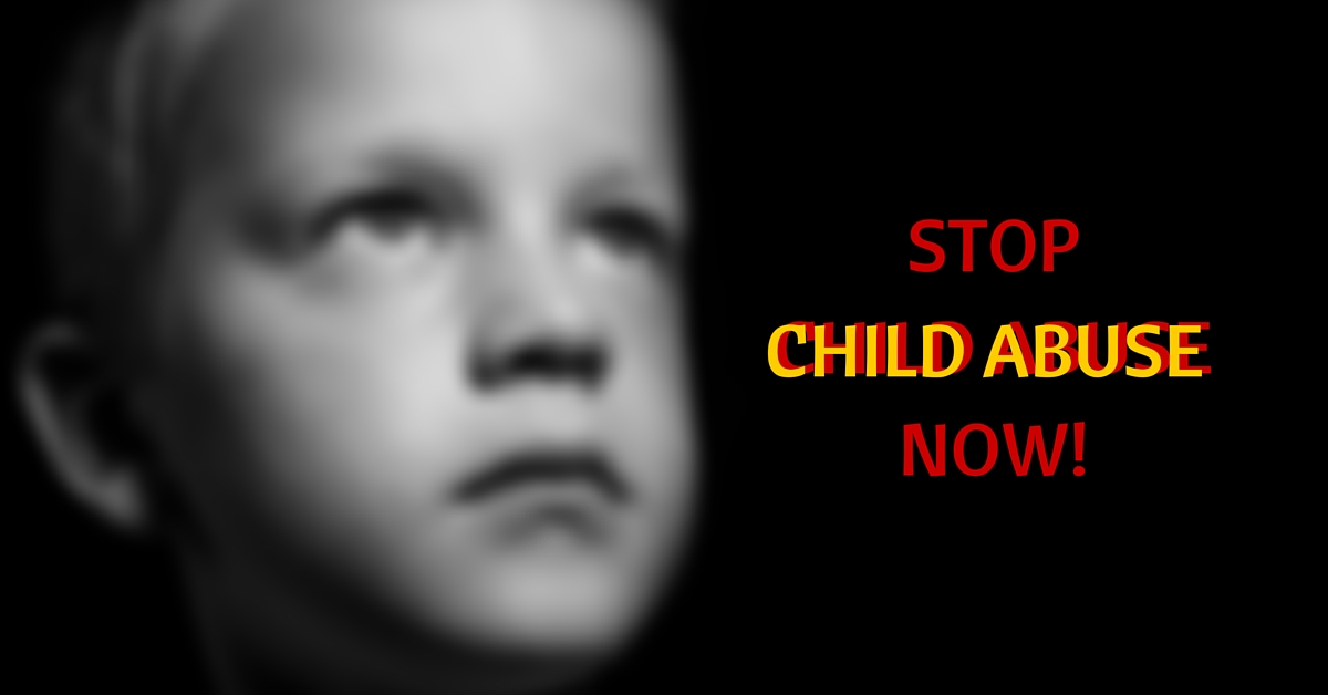 Stop the Abuse Now: Here's How You Identify Child Abuse and Report it