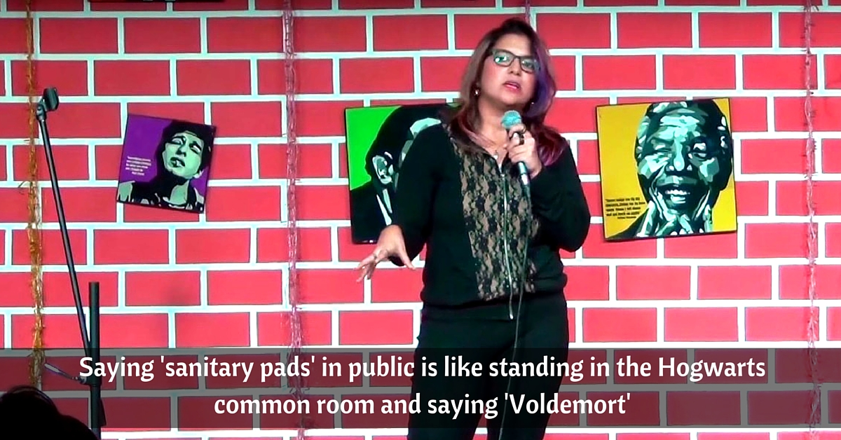Stand-up Comic Aditi Mittal's Latest Gig Is Breaking The Taboo Around Periods. It's a Must Watch!