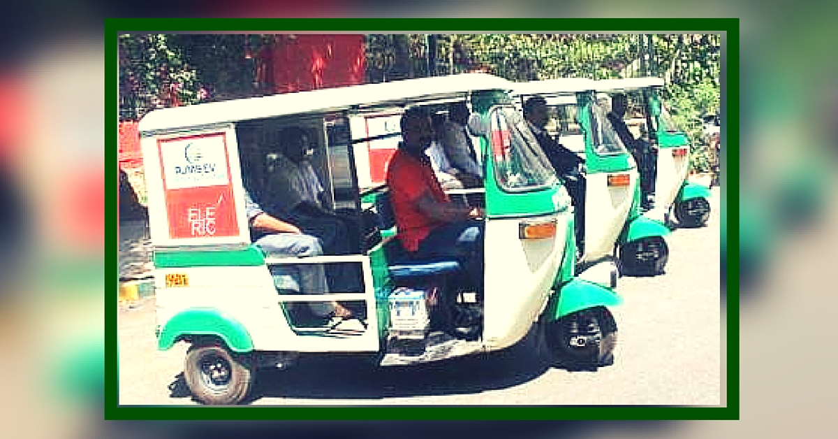 These Newly Launched Solar Powered Autorickshaws Will Help Bengaluru Fight Pollution