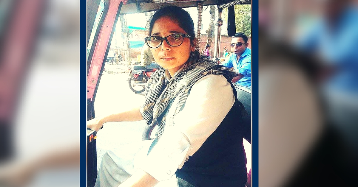 Tabassum Bano, Allahabad's First Woman E-Auto Rickshaw Driver, Is a Real Woman of Substance