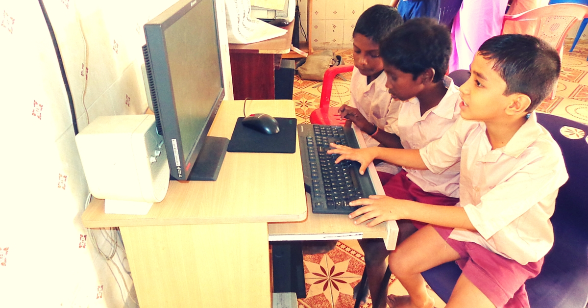 One School in a Remote Karnataka Village Will Soon Have All Its Study Material Online. #DigitalIndia