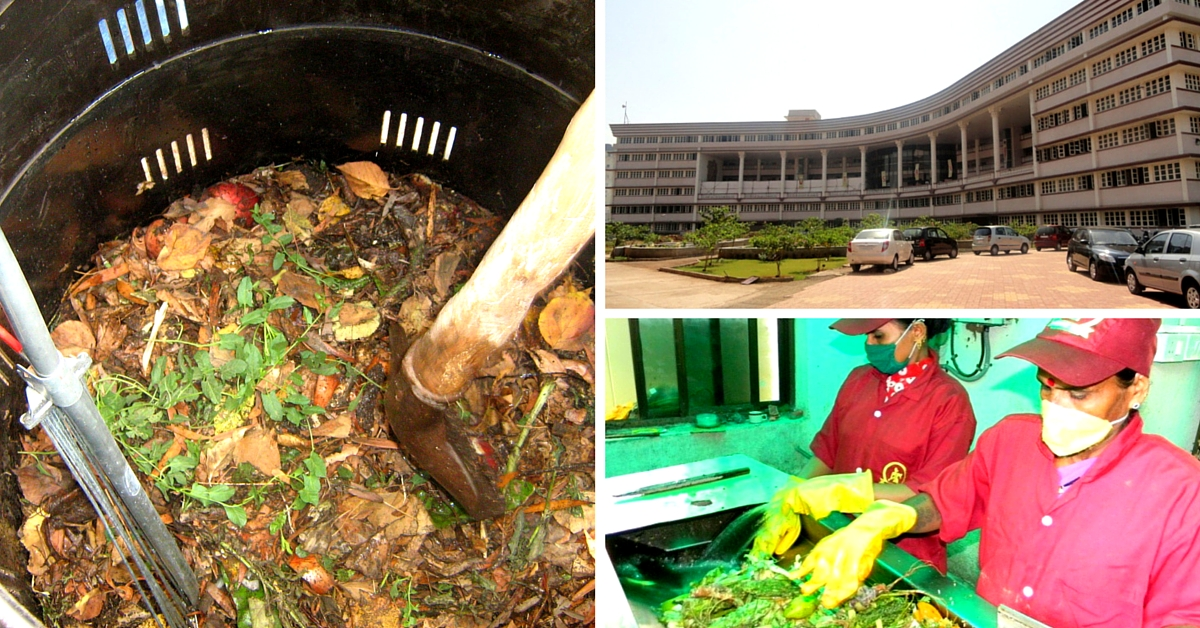 This Mumbai College Produces 100 Kg Waste Everyday. But Doesn't Send Any of It to the Landfill!