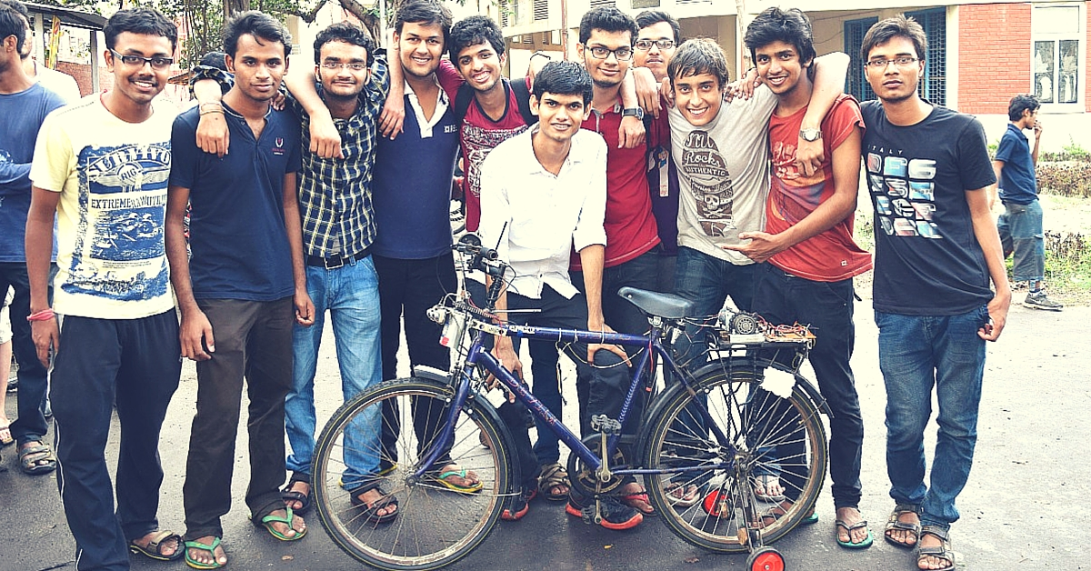 IIT Kharagpur Students Develop a Driverless Bicycle That Can Reach You with Just an SMS