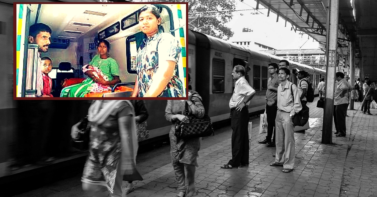 This Is How a Doctor Helped a Woman Deliver Her Baby On-Board a Local Train