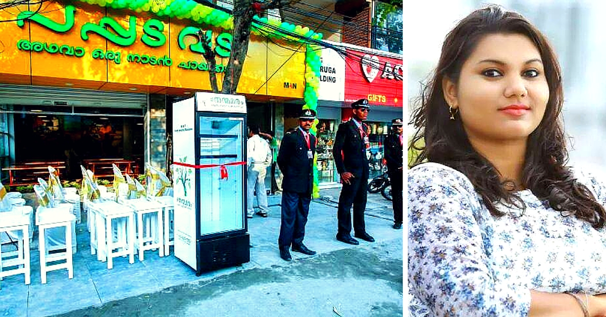 A Restaurant in Kochi Has Installed a Public Fridge so People Can Leave Food for the Homeless