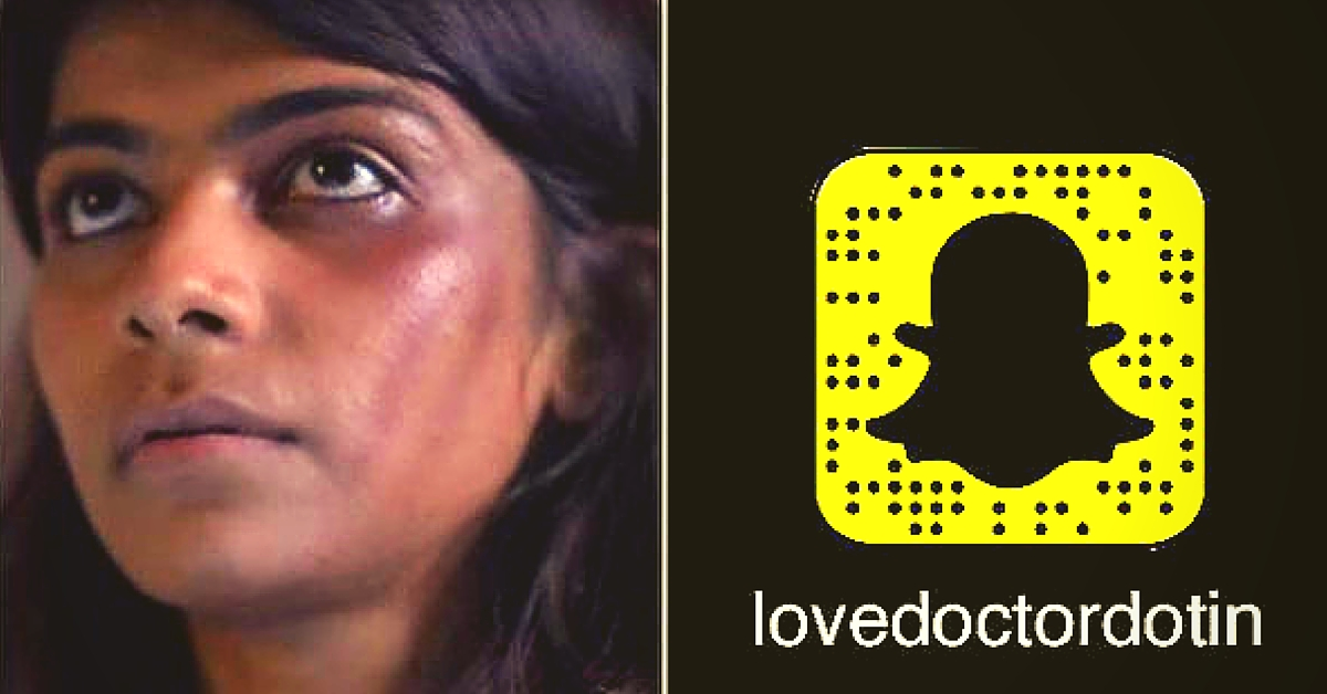 A Snapchat Account to Help People Fight Abuse and Violence in a Relationship