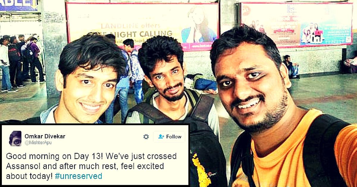 3 Guys Are on a 16-Day Long Train Journey Across India. And One of Them Is Live Tweeting It All.