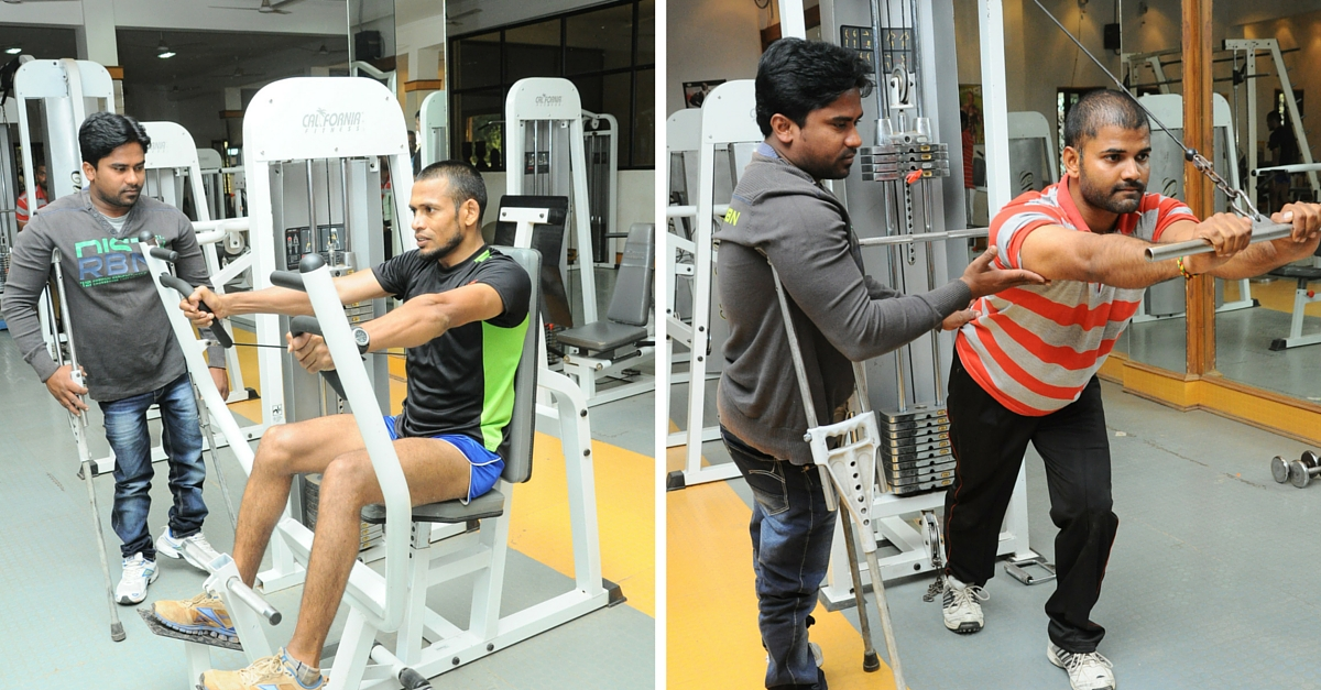 TBI BLOGS: The Story of Kishore, Who Fought Poverty & Even Polio to Become a Leading Gym Trainer