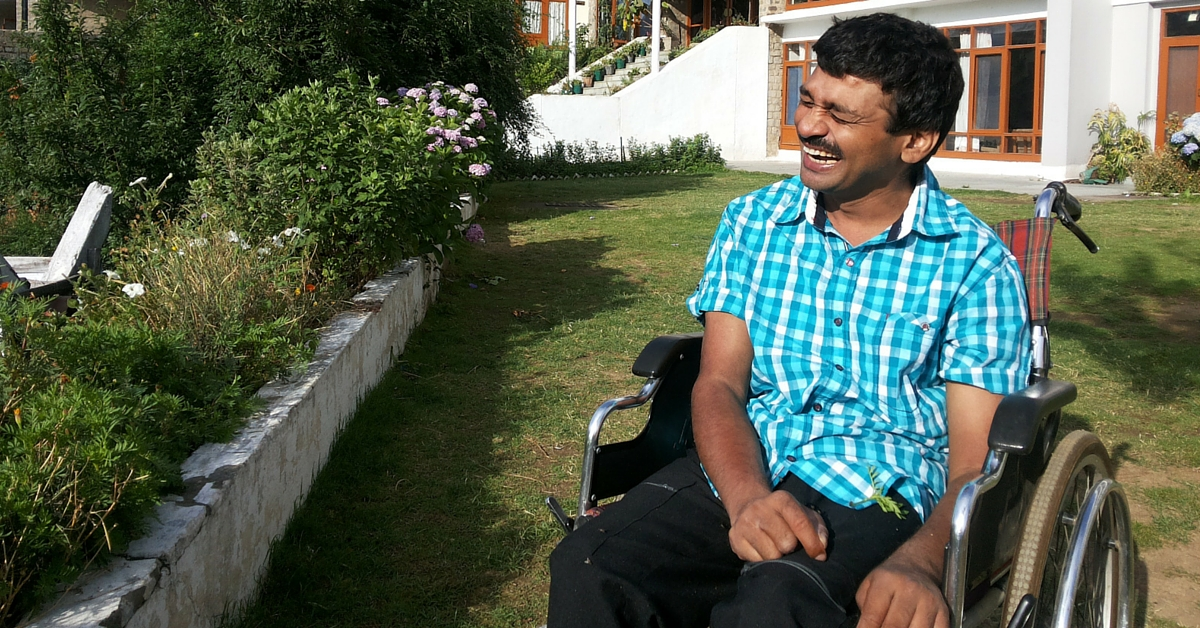 Academic, Teacher, Inventor – This Man Suffering from Cerebral Palsy Plays Many Roles to Perfection